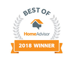 HomeAdvisor Best of 2018 Award