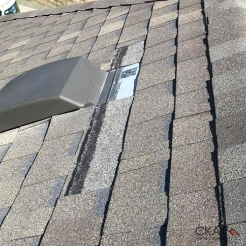 Our home inspections catch any potential problems such as roof damage.