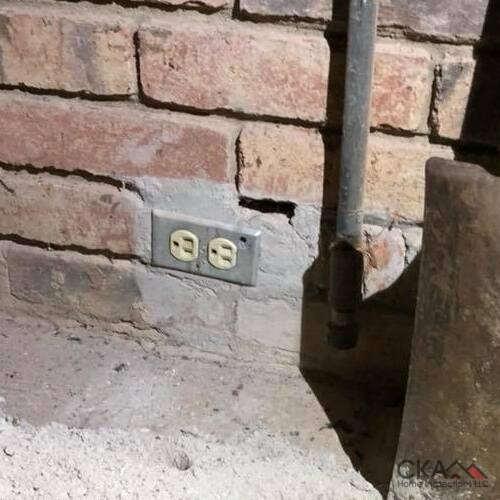 We uncover any problems like poorly installed electrical outlets.